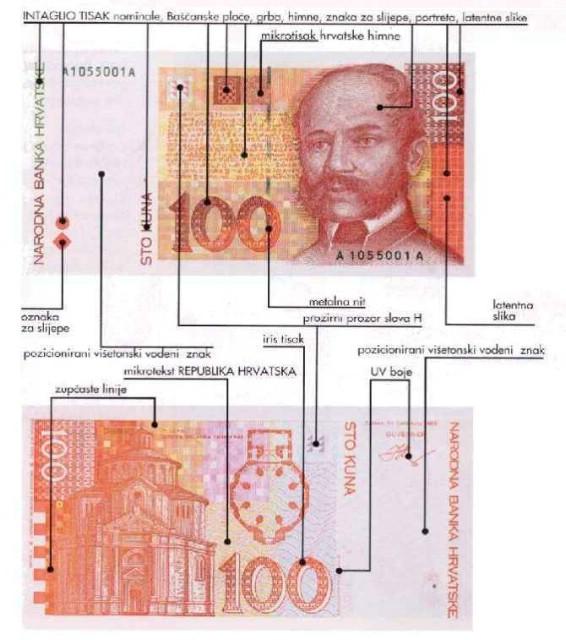 Oprez! Na području Labina krivotvorene novčanice od 1.000,00 kuna
