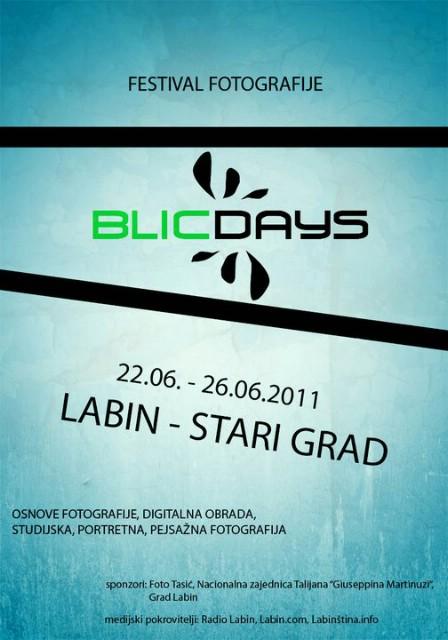Labin: `BLIC DAYS` - Festival fotografije (preuzmite prijavnicu)