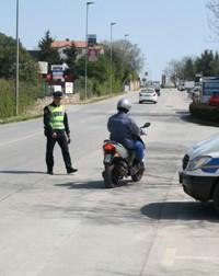 Najava akcije''''Kontrola vozača mopeda i motocikla'''' u ponedjeljak na području PU Istarske