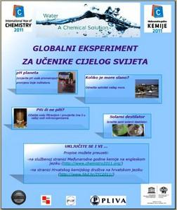 Labinska srednja škola sudjelovala u globalnom eksperimentu povodom Međunarodne godine kemije