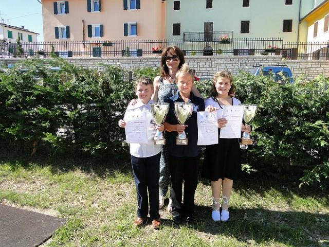 Mladi labinski harmonikaši izuzetno uspješni na Međunarodnom natjecanju u Erbezzu (Italija)