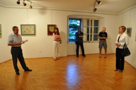 Otvorena izložba Ivana Fanuka u Narodnom muzeju Labin