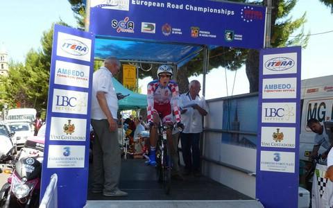 Luka Grubić 38. na kronometar na Europskom prvenstvu u cestovnom biciklizmu