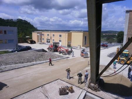 Radovi na završnoj fazi uređenja Pijacala