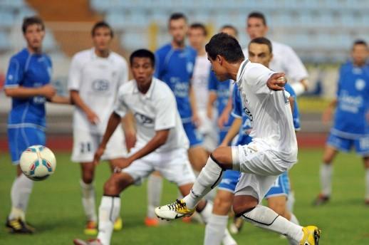 Prijateljska nogometna utakmica: Rijeka svladala Rudar 5:1