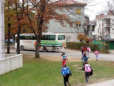 Zaključak Općine Kršan o sufinanciranju troškova prijevoza učenika