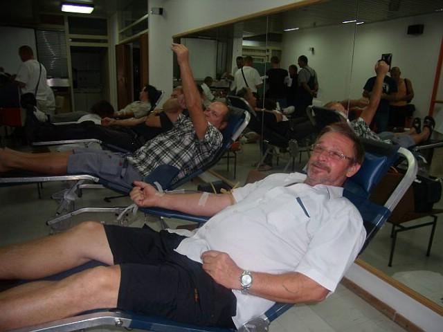 Na akciji dobrovoljnoj akciji darivanja krvi u Labinu prikupljeno 88 doza krvi - Josip Voćanec darovao krv po 100-ti put