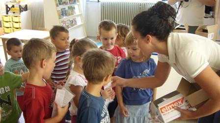 Mališani Dječjeg vrtića Pjerina Verbanac obilježili Svjetski dan oralnog zdravlja