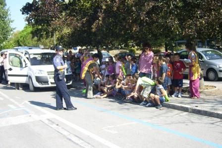 Prometno edukativna akcija održana na poligonu