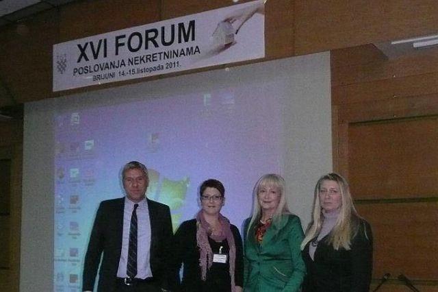 Agencija `Alea nekretnine` iz Labina na 16. Forumu poslovanja nekretninama na Brijunima  o novom zakonodavstvu
