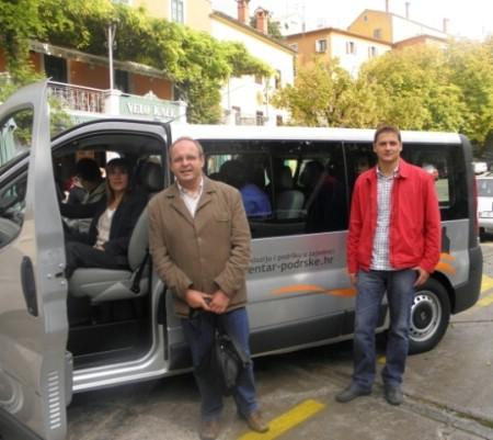 Kombi vozilo za polaznike labinskog Centra za inkluziju i podršku u zajednici