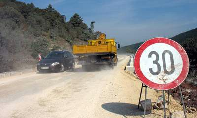 [Obavijest] BARBAN - MOST RAŠA od 3. do 14. studenog: Zbog asfaltiranja opet zaobilazno