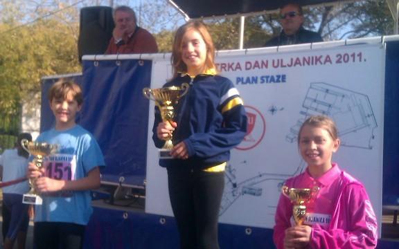 Ana Elena Zustović zlatna  na 29. Utrci Uljanika