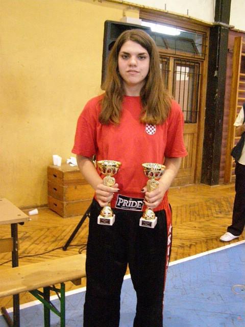 Katarina Cukarić pobjednica kickboxing otvorenog prvenstva  `Slovenija open 2011. `