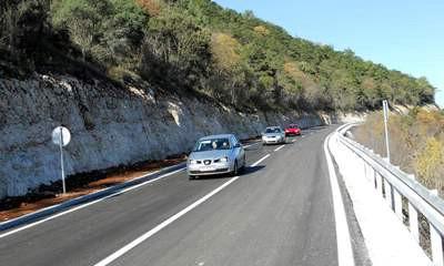 Nakon 9,5 mjeseci: Konačno asfalt od Mosta Raše do Barbana