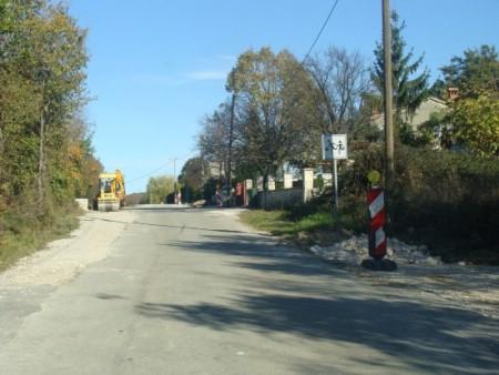Radovi u naselju Streljana