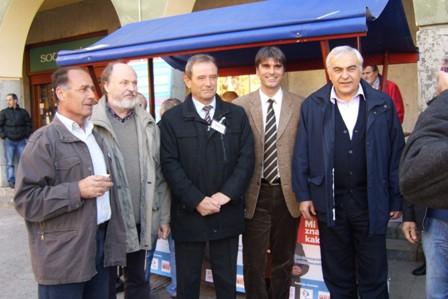 Koalicija BUZ-PGS-HRS predstavila se Labinjanima