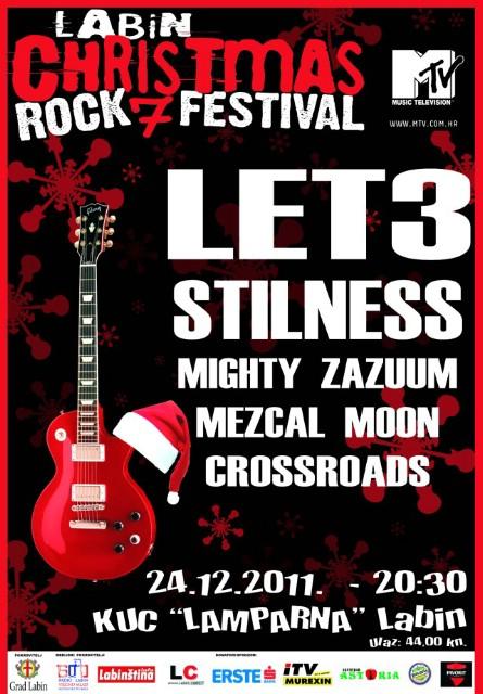 Labin Christmas Rock Festival 7 @ KUC Lamparna 24. 12. 2011.