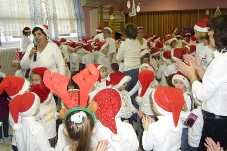 Djed Božićnjak posjetio mališane Dječjeg vrtića Pjerina Verbanac