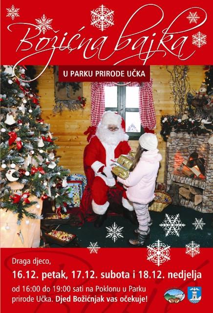 [Poziv svim mališanima] Djeda Mraz boravi na Učki ovog vikenda