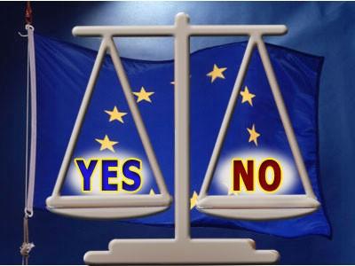 Referendum o pristupanju Republike Hrvatske Europskoj uniji 22. siječnja - zahtjeve za  upis, dopunu ili ispravak popisa birača do 7. siječnja 2012.
