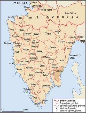 Ekonomski institut: U Istri treba ukinuti pet gradova i 20-tak općina