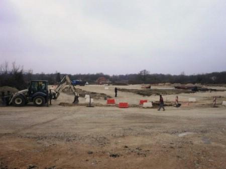 Radovi na rekonstrukciji ceste Labin - gradsko groblje