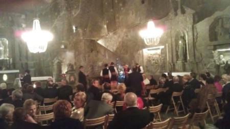 Istra se predstavila na Balu rudara u poljskom Gradu soli - Poljaci zainteresirani za suradnju na labinskom Podzemnom gradu