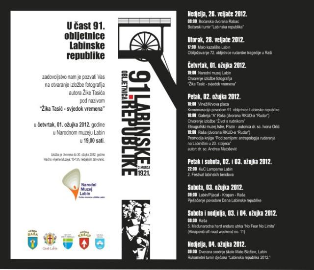 [91. Obiljetnica Labinske republike] Izložba fotografija  `Žika Tasić - svjedok vremena` u Narodnom muzeju Labin