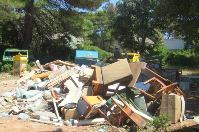 Obavijest o prikupljanju krupnog otpada u Rapcu