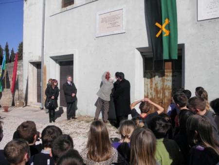 91. obljetnica Labinske republike: Komemoracija na Krvovoj placi