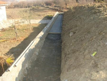 Radovi na oborinskoj kanalizaciji u naselju Presika