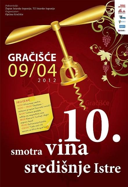 Gračišće: Za 10. smotru vina uzorke predalo 108 vinara