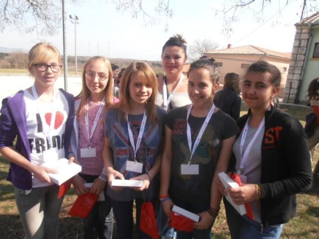 Ekipa OŠ V.Nazora Potpićan pobjednici gradskog natjecanja mladih Hrvatskog crvenog križa