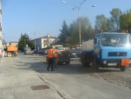 Radovi u Rudarskoj ulici