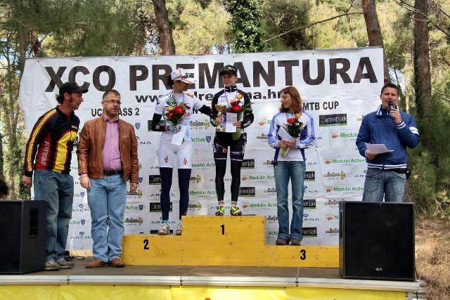Andrea Kiršić 3. na 16. PREMANTURA XCO 2012.