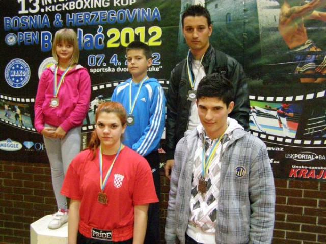 Labinjani osvojili  8 odličja na Internacionalnom kickboxing natjecanju u Bihaću