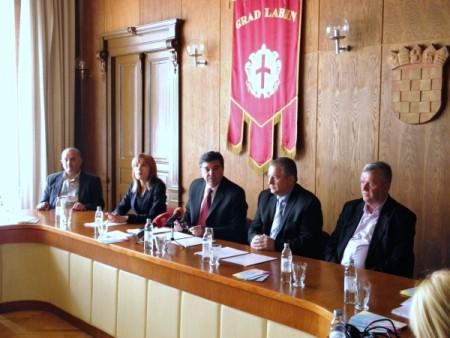 Potpisano Pismo namjere o suradnji između Grada Labina i Općine Struga iz Makedonije