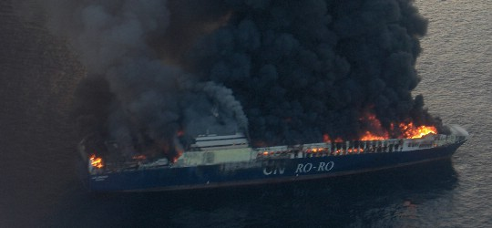Kanader prestao s gašenjem turskog teretnog broda, postoji opasnost od eksplozije!