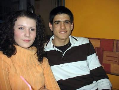 Josipa Jelica i Luka Stepančić, mladi labinski rukometaši, debitanti u kadetskoj reprezentaciji Hrvatske