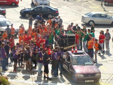 Labinski maturanti slave posljednji dan nastave - Tovar & fotke