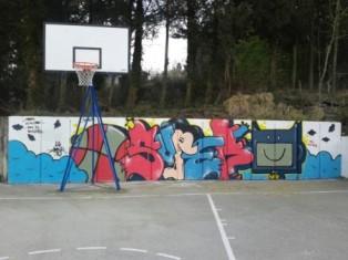 Kreativan zid na Đilu