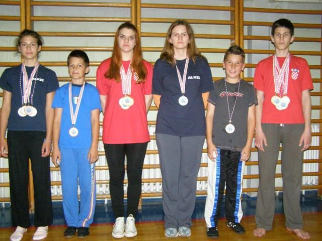 Na Prvenstvima Hrvatske u Kickboxingu Labinjani u ovoj  godini osvojili 20 medalja