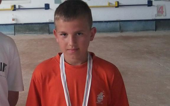 Mladi labinski boćar Mateo Načinović pozvan u reprezentaciju Hrvatske