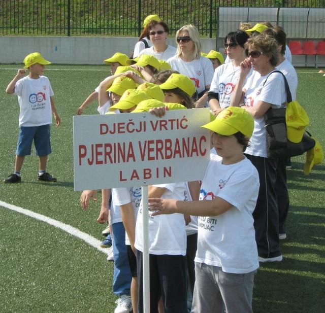 Mali olimpijci najbolji u štafeti, ukupno šesti na 11. festivalu dječjih vrtića Istre