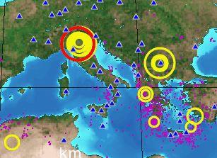 Jako potres koji je ponovno pogodio Italiju, osjetio se i u Labinu