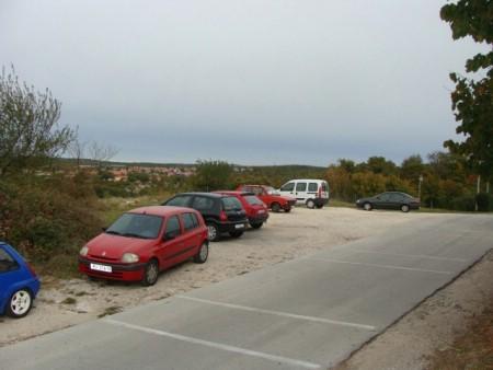 Uređuje se parkiralište na Streljani