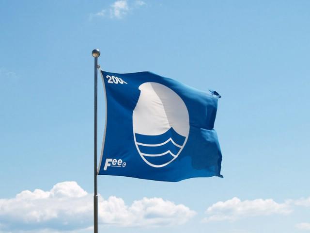 Plava zastava plaži na Girandelli u Rapcu