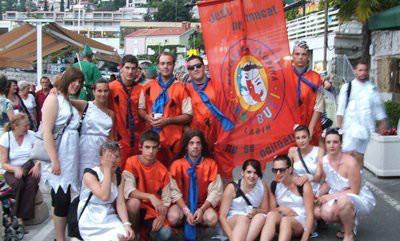 Ljetni karneval 16. lipnja na rivi u Rapcu