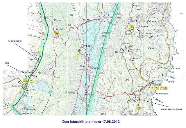 [Obavijest] Do četvrtka prijave za obilježavanje Dana istarskih planinara 17. 06.